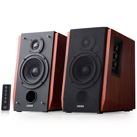 Edifier Studio R1700BT 2.0 Bluetooth Speakers/ 66W RMS/ Remote Control/ Bluetooth and Dual Analogue (RCA) Audio Inputs datoru skaļruņi