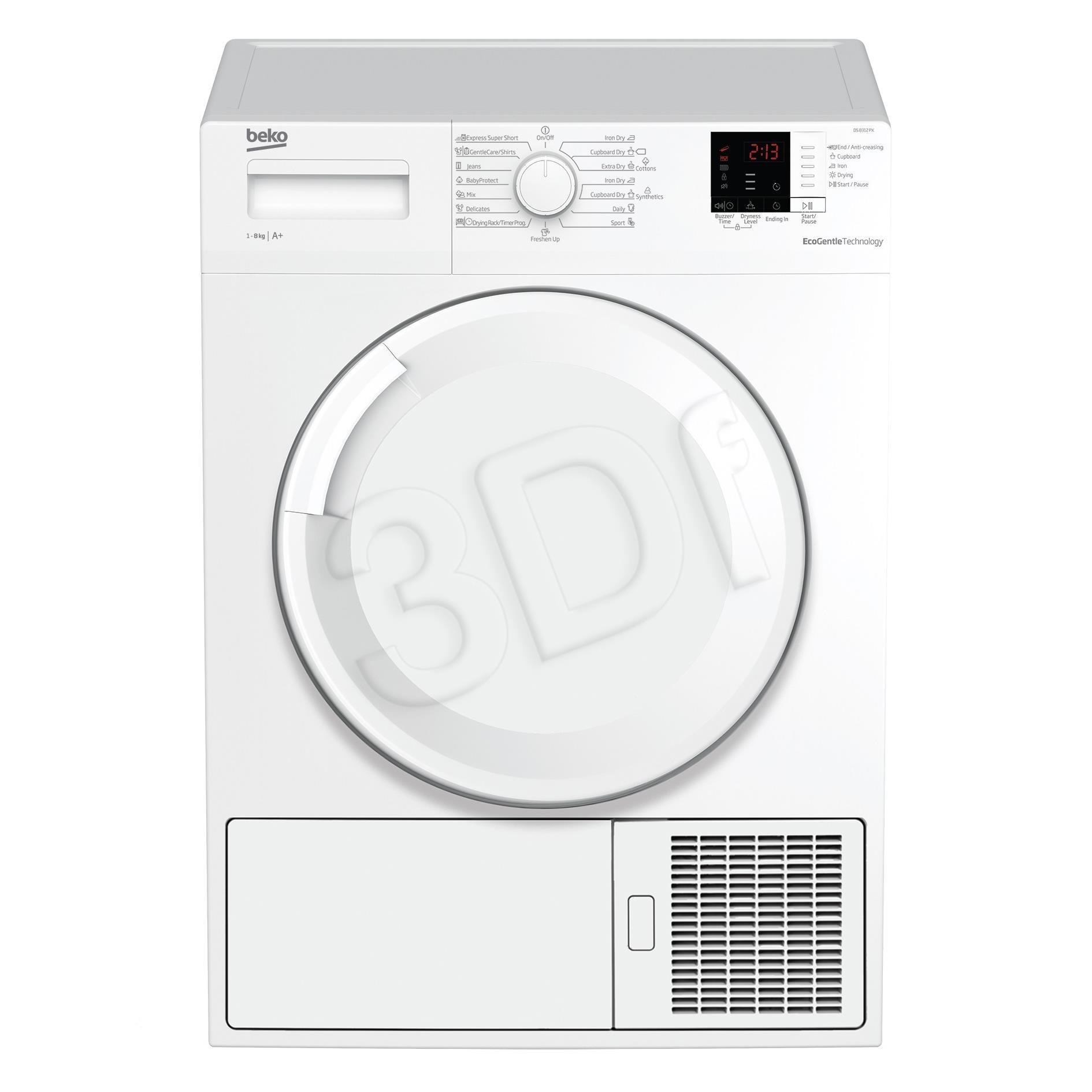 DS8312PX Dryer Veļas žāvētājs