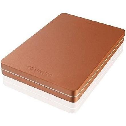 Toshiba CANVIO ALU 2.5; 500GB USB 3.0 Metallic Red Ārējais cietais disks