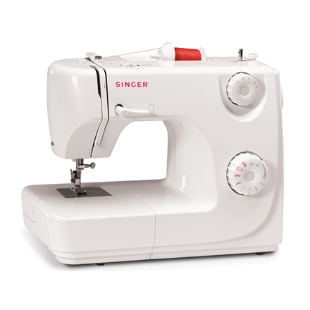 Singer SMC 8280 Standard Sewing Machine/ 7 built-in stitches/ Automatic 4-step buttonhole/ Adjustable Stitch Length and Zigzag Width/ Automa Šujmašīnas