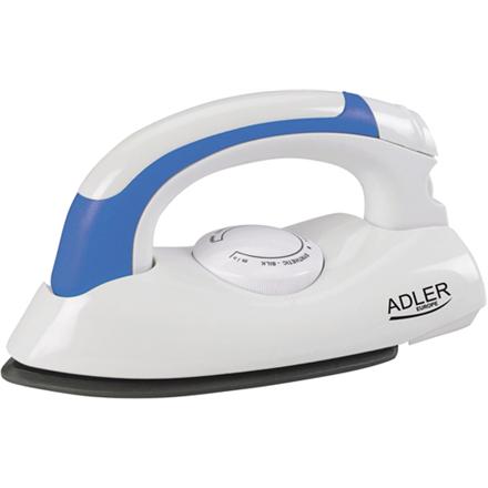 Adler AD 5015 Travel Iron, Non-stick soleplate, Power: 800W Gludeklis