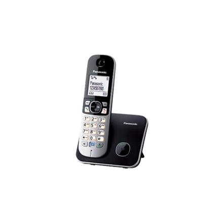 Panasonic KX-TG6811FXB Cordless phone, Silver Black telefons
