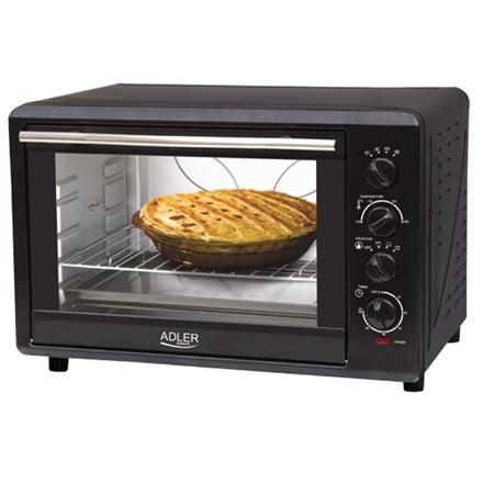 Adler AD 6010 Electric oven black Cepeškrāsns