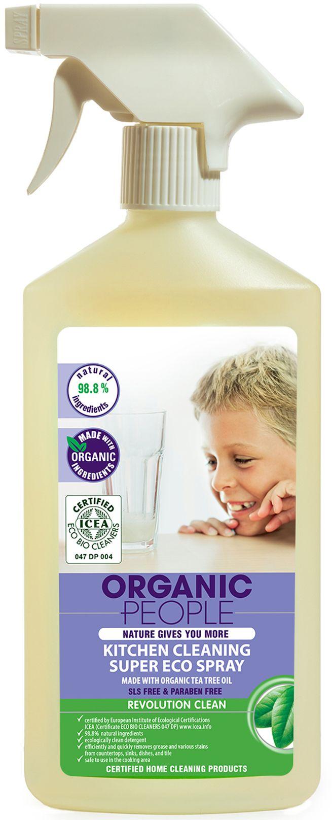 Organic People Spray do czyszczenia kuchenek 500 ml tīrīšanas līdzeklis