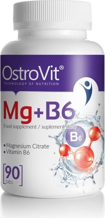 OstroVit Mg + B6 90tabl. Ostrovit roz. MP
