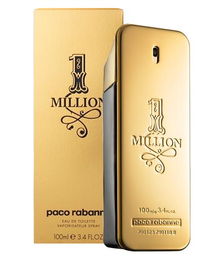PACO RABANNE 1 Million  EDT 50ml PACO/1 Million/EDT/50/M Vīriešu Smaržas