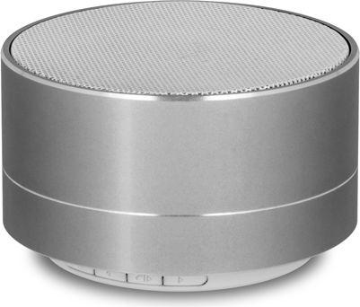 Forever PBS-100 Bluetooth Bezvadu Skaļrunis ar Micro SD / Radio / Sudraba pārnēsājamais skaļrunis