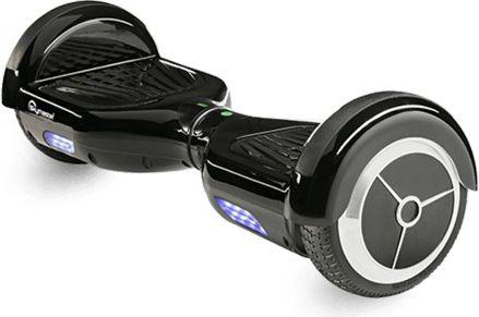Deskorolka elektryczna Opticum Wheels 6,5'' Czarny Opticum black Elektriskie skuteri un līdzsvara dēļi