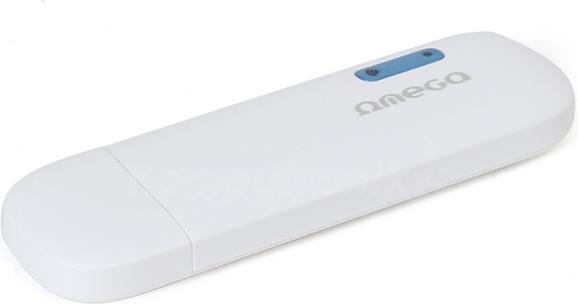 Modem GSM Omega USB 3G 14.4Mbps + Wi-Fi Bialy (OWLHM2W) OWLHM2W