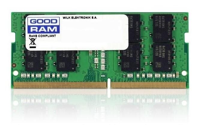 GOODRAM SODIMM DDR4 8GB PC4-21300 (2666MHz) CL19 1024x8 operatīvā atmiņa