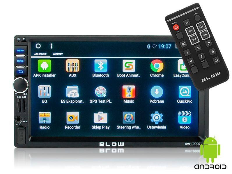BLOW AVH-9900 2DIN 7'' GPS Android automagnetola