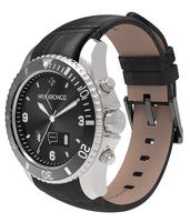 MyKronoz ZeClock 200 mAh, Bluetooth, Black, Silver, Waterproof, Warranty 1 year(s), Viedais pulkstenis, smartwatch
