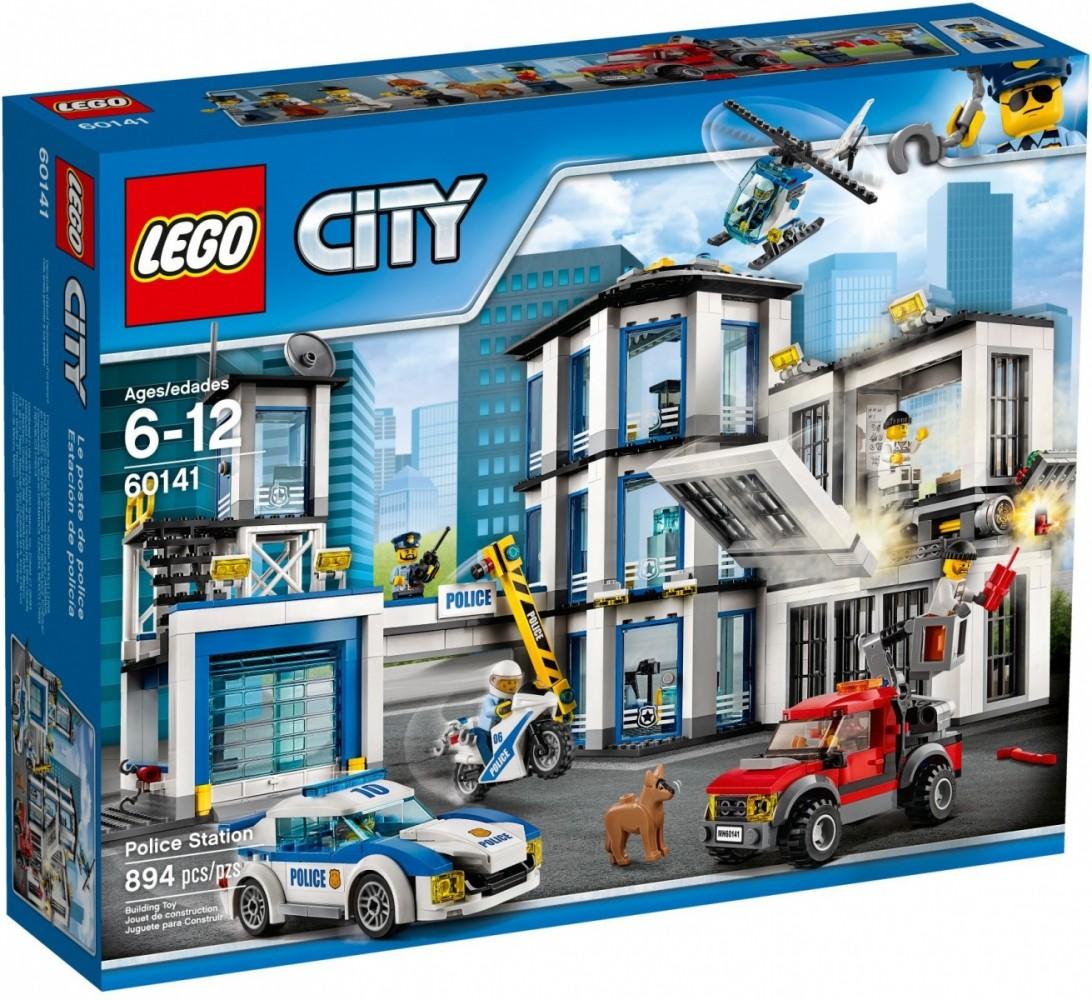 LEGO City 60141 Police Station LEGO konstruktors