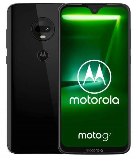 Smartphone Moto G7 Dual Sim 4/64GB Black Mobilais Telefons