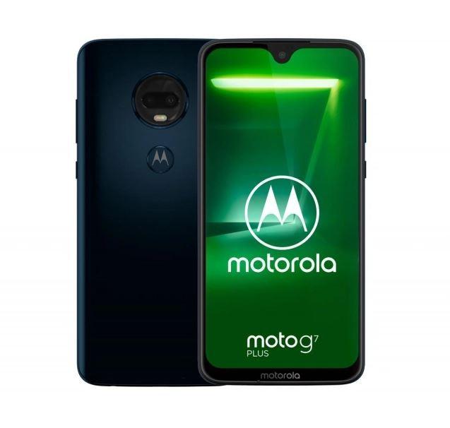 Smartphone Moto G7 Plus DS 4/64GB Deep Indigo Mobilais Telefons