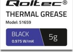 Qoltec Thermal glue 0.975 W/m-K | 5g | white termopasta