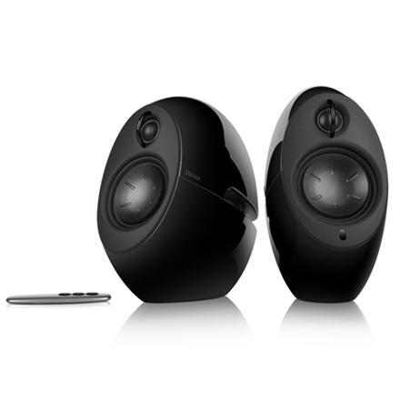 Edifier Luna HD - Wired / Wireless - 3.5mm / Bluetooth - 74W - 50 - 20000Hz - Black (E25HD BLACK) datoru skaļruņi