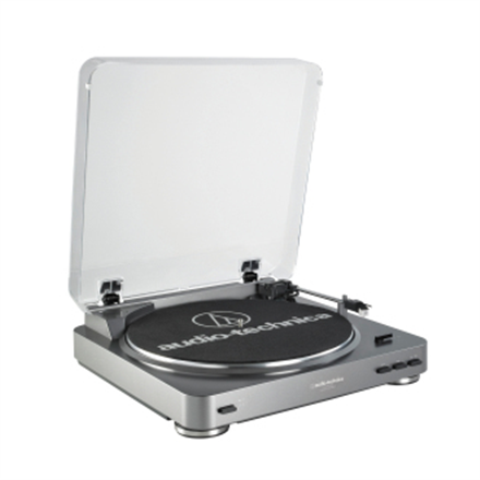 Audio Technica Turntable AT-LP60-USB USB port AT-LP60USB mūzikas centrs