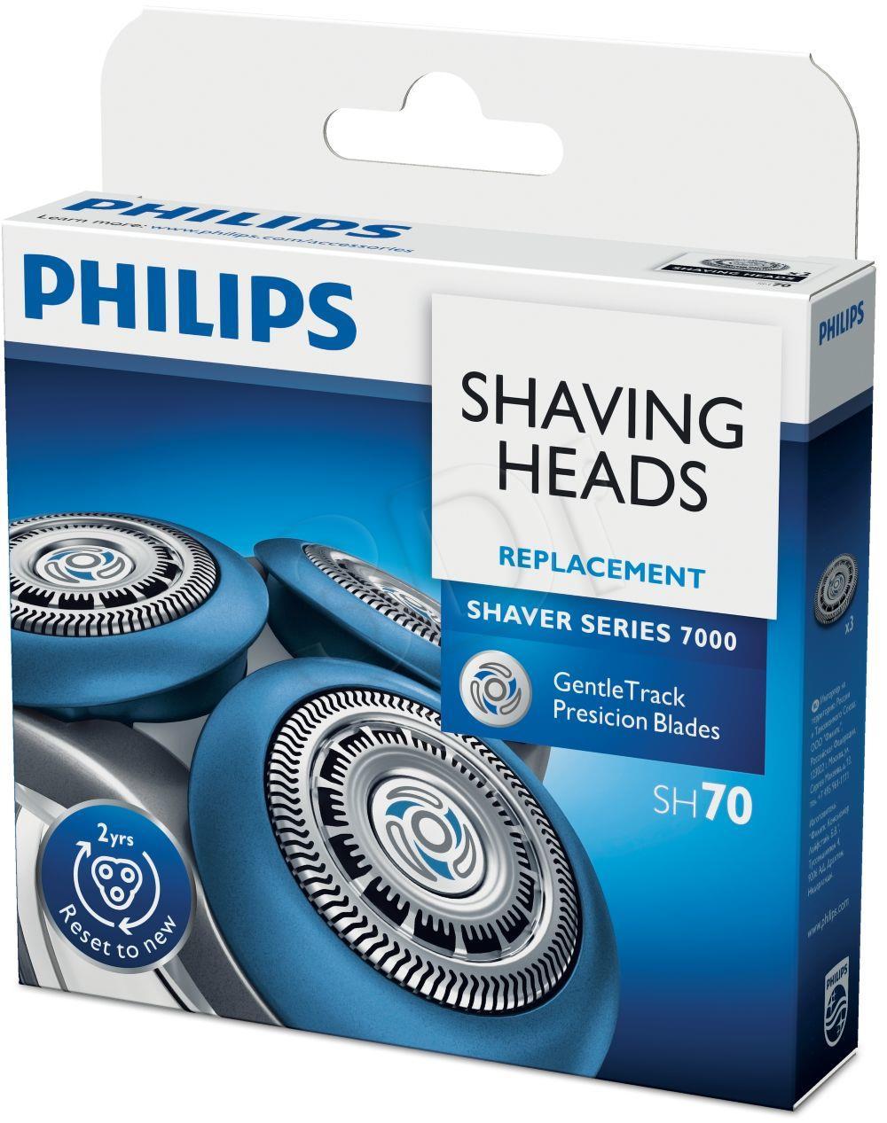 Philips SH70/50 Scherkopfe for Shaver Series 7000 vīriešu skuvekļu piederumi