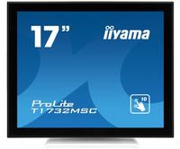 IIyama T1732MSC-W1X, TN touchscreen, SXGA, VGA, DVI-D, USB monitors