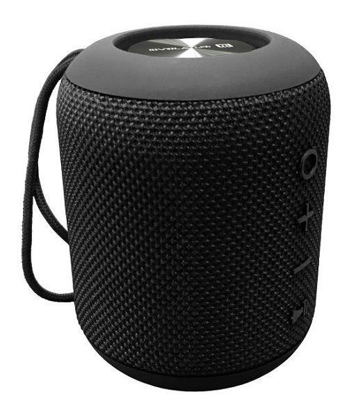 Evelatus Bluetooth Speaker S size EBS01  Black pārnēsājamais skaļrunis