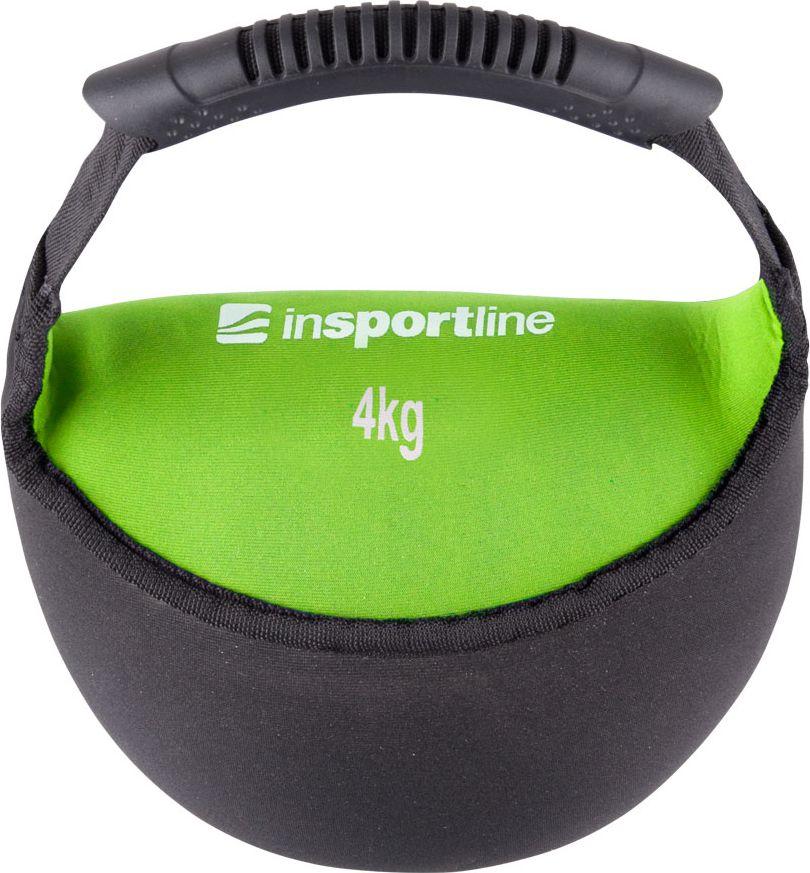 inSPORTline Hantla neoprenowa Bell-bag 4 kg (9328) 9328 hanteles