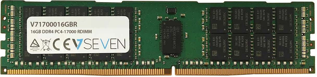 Pamiec serwerowa V7 DDR4  16GB,  2133MHz,  CL15 (V71700016GBR) V71700016GBR