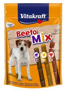 VITAKRAFT  BEEFO MIX paleczki 130g 26959