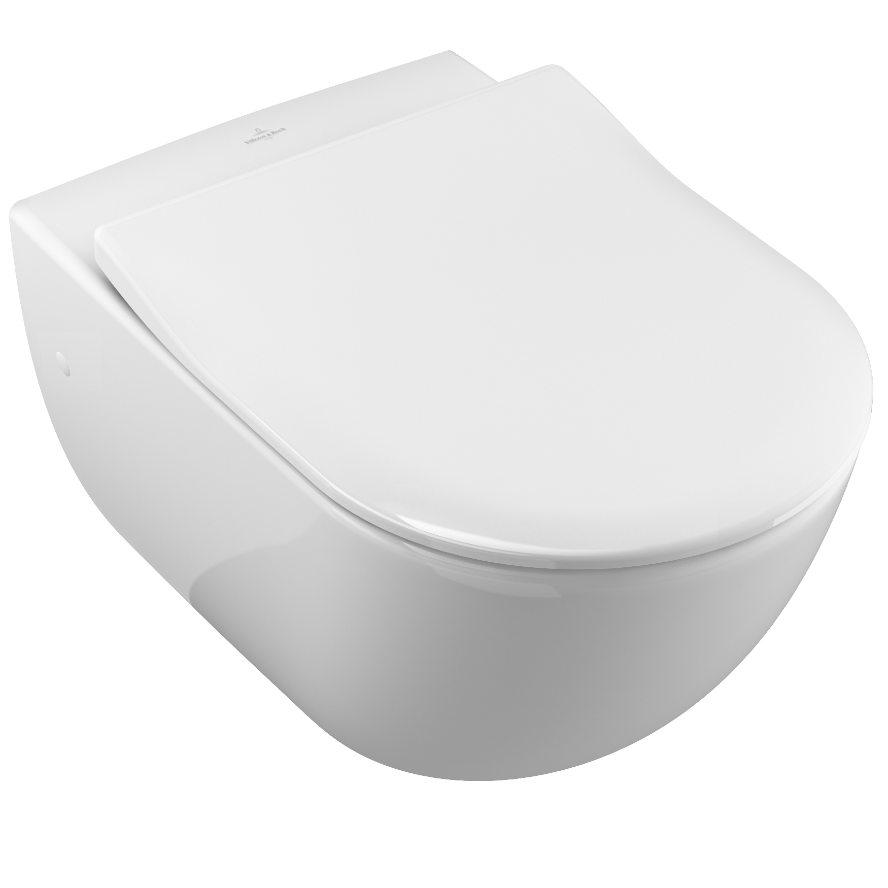 Villeroy & Boch Hanging toilet bowl Subway Weiss Alpin 56,5 x 37,5cm (66001001)