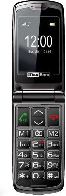 MAXCOM MM 822 WHITE      POLIPHONE/BIG BUTTON Mobilais Telefons