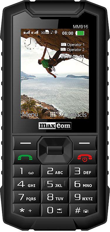MAXCOM MM 916            lapasG 3G Mobilais Telefons