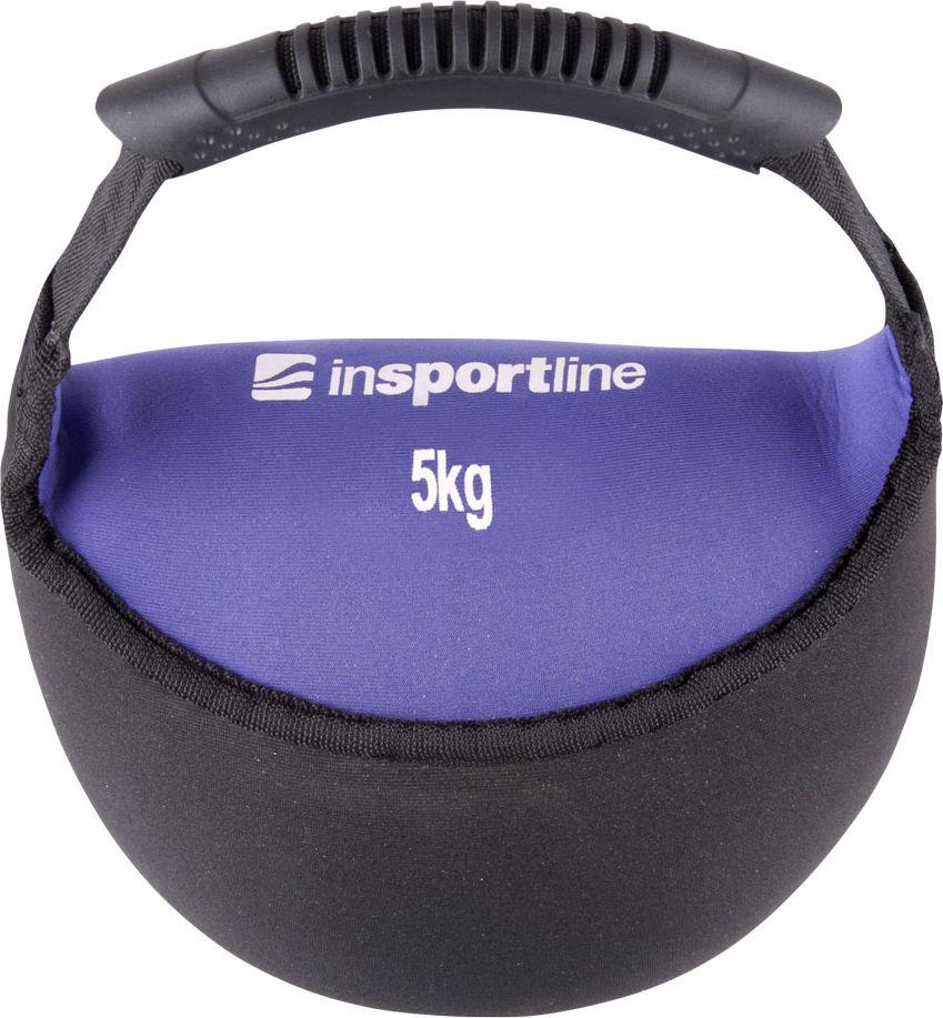 inSPORTline Hantla neoprenowa Bell-bag 5 kg (9329) 9329 hanteles