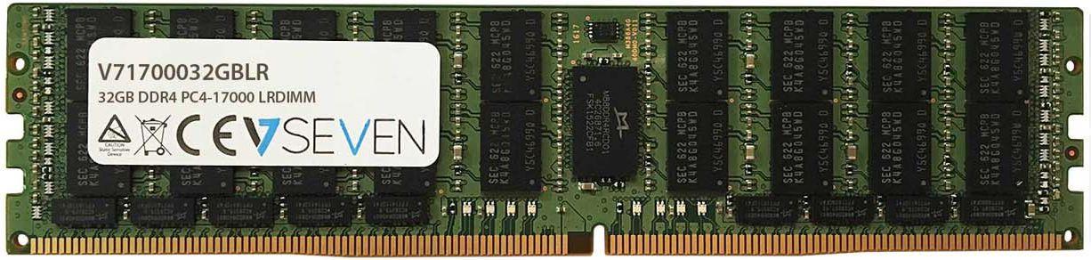 Pamiec serwerowa V7 LR DIMM  DDR4, 32GB,  2133MHz,  CL15 (V71700032GBLR) V71700032GBLR