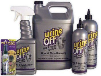 URINE OFF Dog & Puppy Odor & Stain Remover - for removing urine stains 118ml aksesuārs suņiem