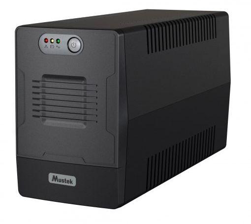 Mustek PM 1000 Line Interactive Schuko nepārtrauktas barošanas avots UPS
