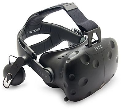 VR Cover HTC Vive Deluxe Audio Strap Schaumstoff-Einlage 10mm - spēļu aksesuārs