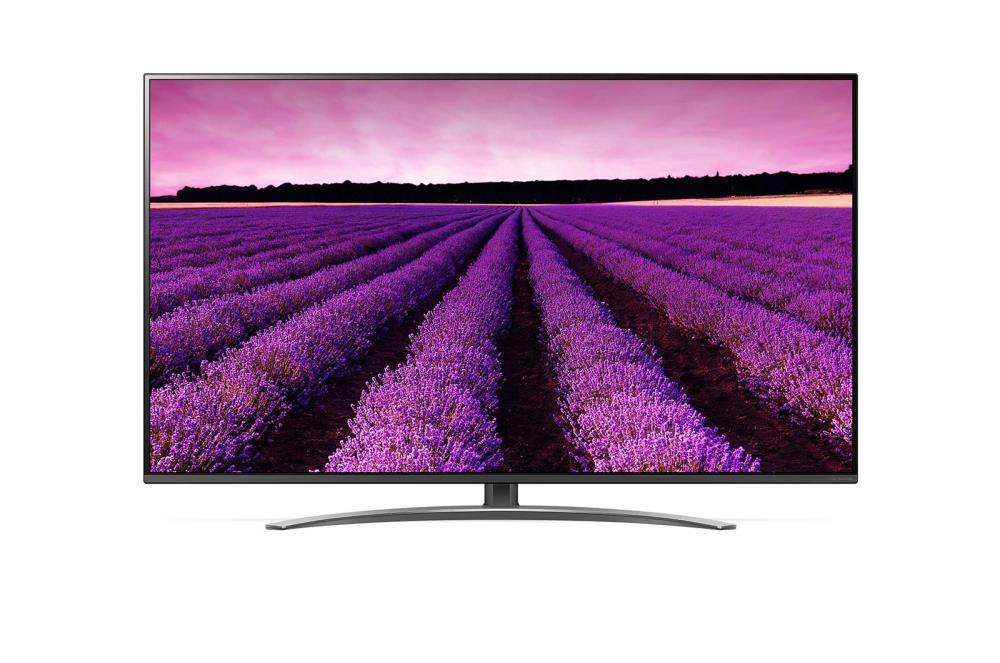 LG 49SM8200PLA 49 (123 cm), Smart TV,  4K Ultra HD Nanocell TV, 3840 x 2160, Wi-Fi, DVB-T/T2/C/S/S2, Silver LED Televizors
