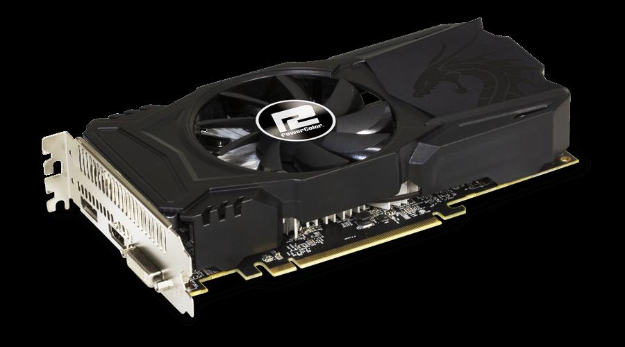 PowerColor AMD Radeon RX 560 Red Dragon 4GB video karte