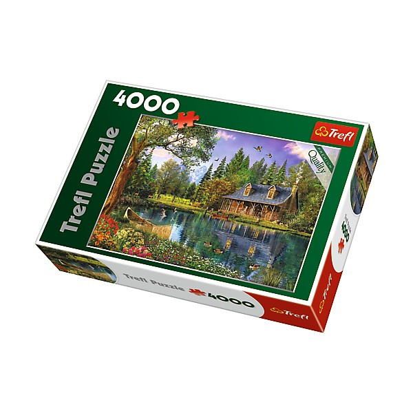 TREFL 4000 elements, afternoon idyll puzle, puzzle