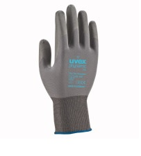 Safety gloves Uvex Phynomic XS, grey, size 08 UV6005608 darba apavi