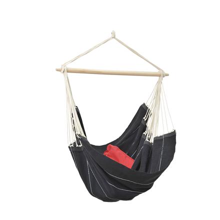 Amazonas Hanging Chair Brasil Black AZ-2030140 - 160cm Matrači un tūrisma paklāji