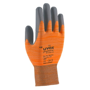Safety gloves Uvex Phynomic X-Foam, orange, size 10 UV6005410 darba apavi
