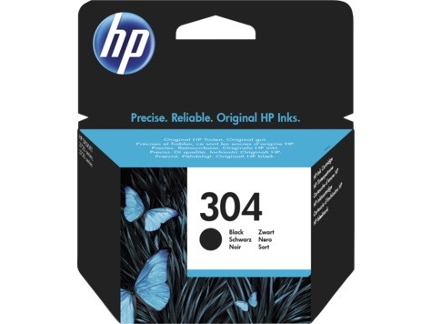 HP N9K06AE ink cartridge black No. 304 kārtridžs