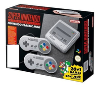 Nintendo Classic Mini: Super Nintendo Entertainment System spēļu konsole