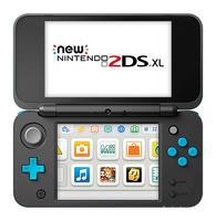 Nintendo New 2DS XL - black spēļu konsole