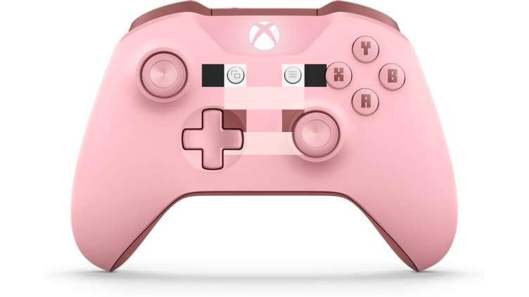 Microsoft Wireless Controller Minecraft Pig SE (Xbox One) spēļu konsoles gampad