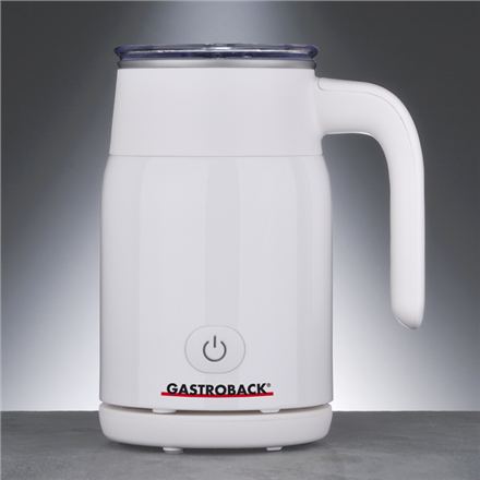 Gastroback 42325 White, Milk Frother, 500 W W