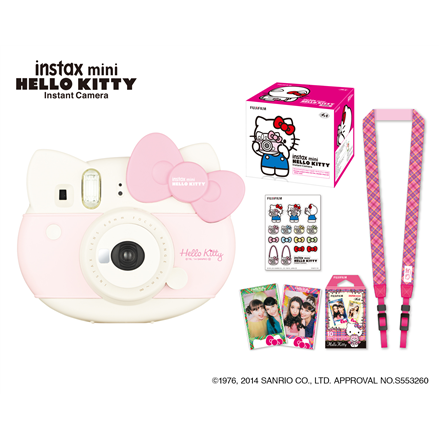 Fujifilm instax mini HELLO KITTY Pink, Alkaline Digitālā kamera