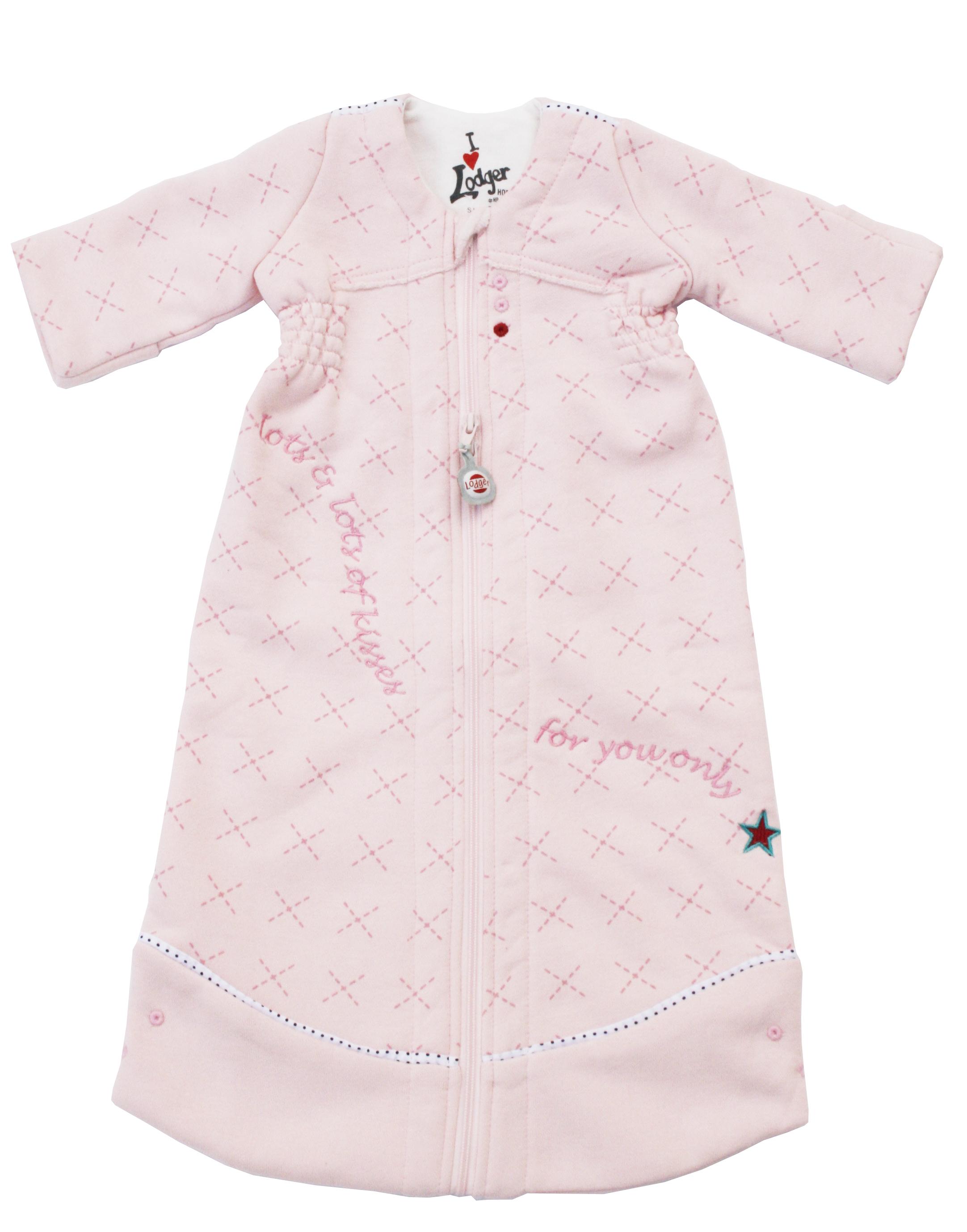 Lodger Hopper guļammaiss ar garām rokām, Blossom, 50/62 HPW 024_50/62 bērnu ietinamā sedziņa