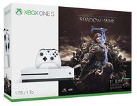 Microsoft Xbox One S 1TB incl. Shadow of War       USK 16 spēļu konsole
